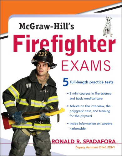 McGraw-Hill's Firefighter Exams   2008 9780071477697 Front Cover