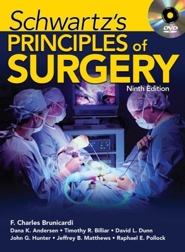 Principles of Surgery  9th 2010 edition cover