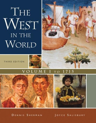 West in the World To 1715 3rd 2008 edition cover