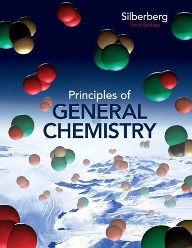 Principles of General Chemistry  3rd 2013 edition cover