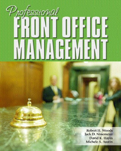 Professional Front Office Management   2007 edition cover