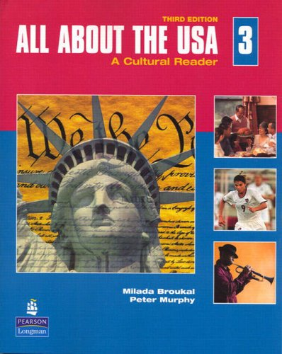 All about the USA A Cultural Reader 3rd 2008 edition cover
