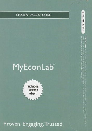 Economics Today New Myeconlab With Pearson Etext Access Card:   2013 edition cover