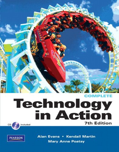 Technology in Action  7th 2011 edition cover