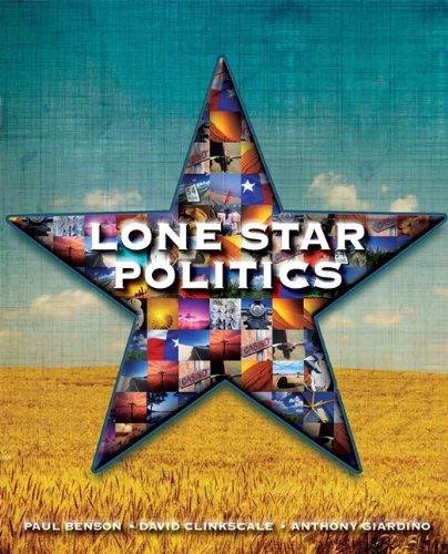 Lone Star Politics  4th 2011 (Revised) edition cover