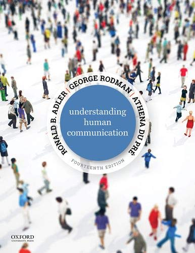 Cover art for Understanding Human Communication, 14th Edition