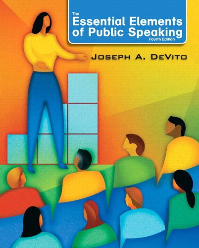 Essential Elements of Public Speaking  4th 2012 (Revised) edition cover