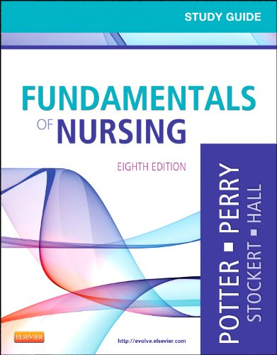 Study Guide for Fundamentals of Nursing  8th 2012 edition cover