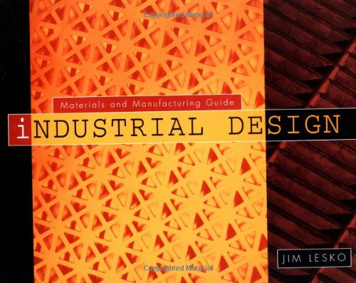 Industrial Design Materials and Manufacturing  1999 edition cover