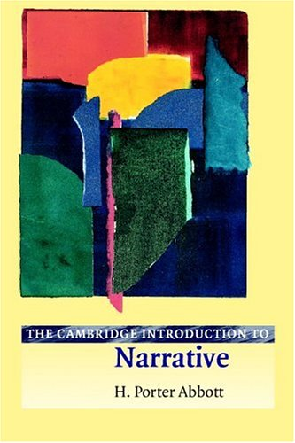 Cambridge Introduction to Narrative   2001 edition cover