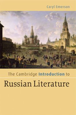 Cambridge Introduction to Russian Literature   2008 9780521844697 Front Cover
