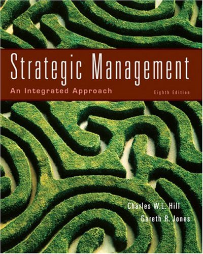 Strategic Management An Intergrated Approach 8th 2008 edition cover