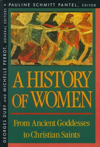 From Ancient Goddesses to Christian Saints   1992 edition cover