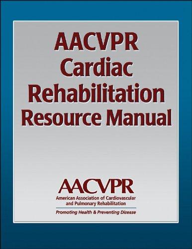 AACVPR Cardiac Rehabilitation Resource Manual   2006 edition cover