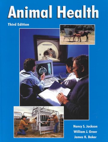 Animal Health  3rd 2000 edition cover