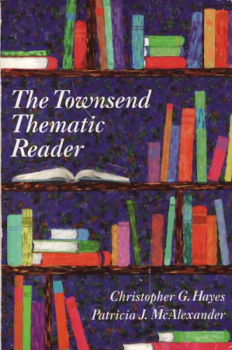 Townsend Thematic Reader N/A 9780944210697 Front Cover