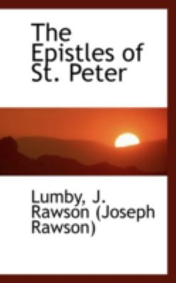 Epistles of St Peter  N/A 9781113174697 Front Cover