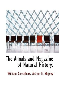 Annals and Magazine of Natural History N/A 9781115406697 Front Cover
