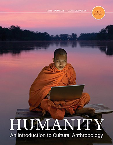 Humanity: An Introduction to Cultural Anthropology  2017 9781337109697 Front Cover