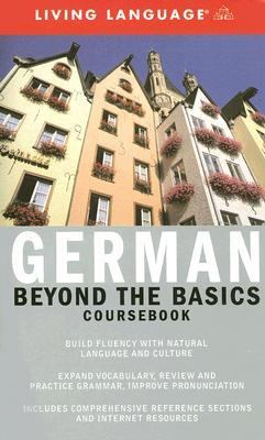 Beyond the Basics: German (Coursebook)  Large Type  9781400021697 Front Cover