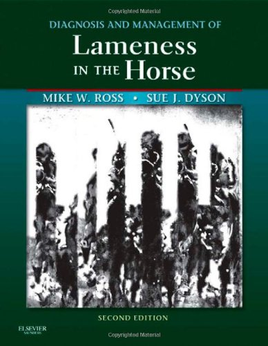 Diagnosis and Management of Lameness in the Horse  2nd 2010 edition cover