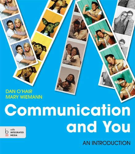 Communication and You: An Introduction 1st 2013 edition cover