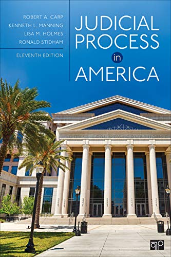 Judicial Process in America  11th 2020 9781544316697 Front Cover