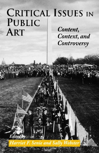 Critical Issues in Public Art Content, Context, and Controversy  1998 edition cover