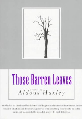 Those Barren Leaves  Reprint edition cover