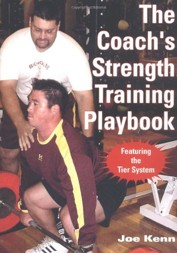 Coach's Strength Training Playbook   2003 edition cover