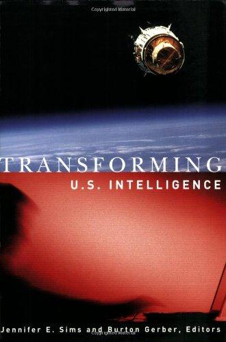Transforming U. S. Intelligence   2005 edition cover