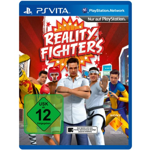 REALITY FIGHTERS PlayStation Vita artwork