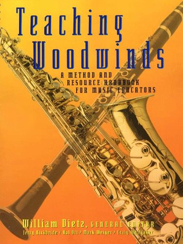 Teaching Woodwinds A Method and Resource Handbook for Music Educators  1998 edition cover
