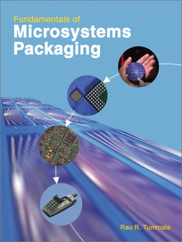 Fundamentals of Microsystems Packaging   2001 edition cover