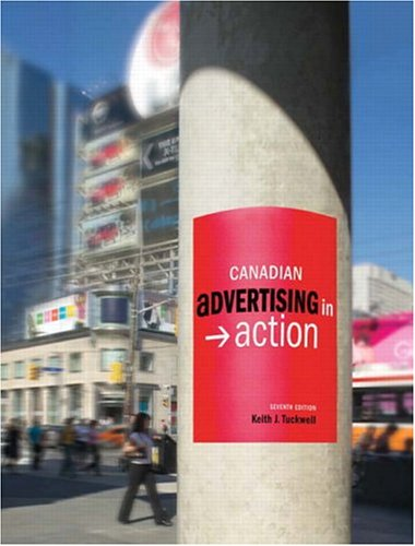 CANADIAN ADVERTISING IN ACTION 7th 2005 edition cover