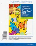 Introduction to Programming Using Visual Basic 2012, Student Value Edition  9th 2014 edition cover