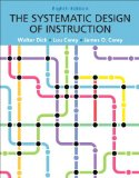 Systematic Design of Instruction  8th 2015 edition cover