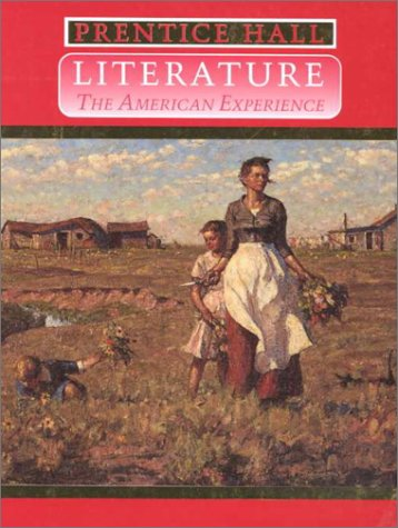 Literature : The American Experience 4th 1996 (Student Manual, Study Guide, etc.) 9780138382698 Front Cover