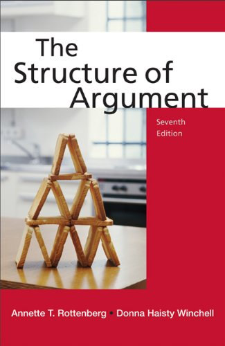 Structure of Argument  7th 2012 edition cover