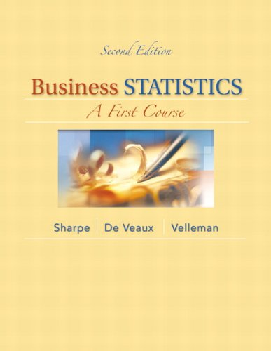 Business Statistics A First Course 2nd 2014 edition cover