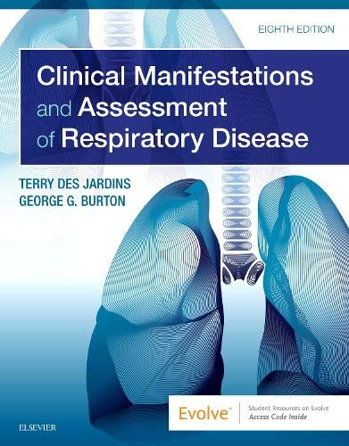 Clinical Manifestations and Assessment of Respiratory Disease:   2019 9780323553698 Front Cover