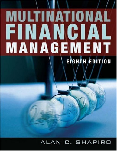 Multinational Financial Management  8th 2006 (Revised) edition cover