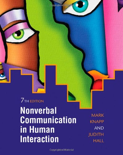 Nonverbal Communication in Human Interaction  7th 2010 edition cover