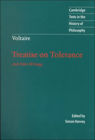 Voltaire Treatise on Tolerance  2000 edition cover