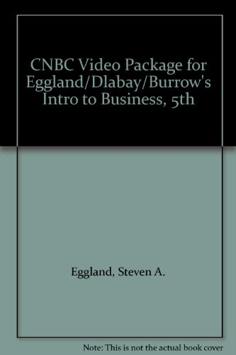 Introduction to Business  5th 2004 9780538438698 Front Cover