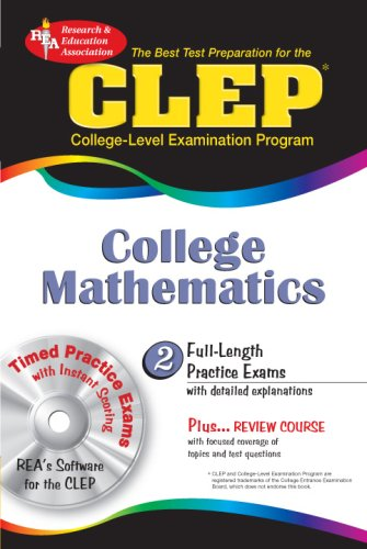 CLEP College Mathematics  N/A edition cover