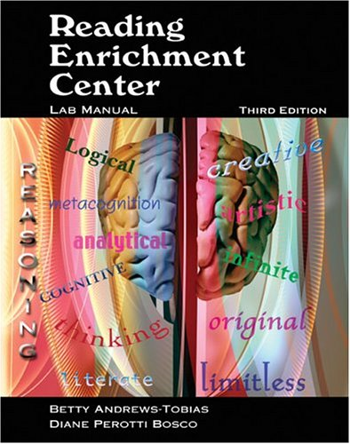 Reading Enrichment Center Lab Manual 3rd 2004 (Revised) 9780757512698 Front Cover
