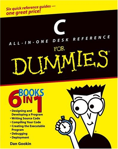 C All-in-One Desk Reference for Dummies�   2004 edition cover