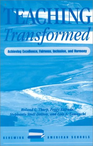 Teaching Transformed Achieving Excellence, Fairness, Inclusion, and Harmony  2000 (Revised) edition cover