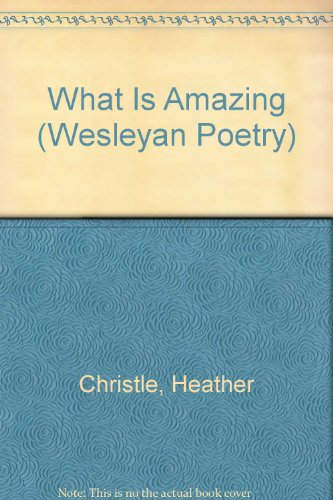 What Is Amazing  N/A edition cover